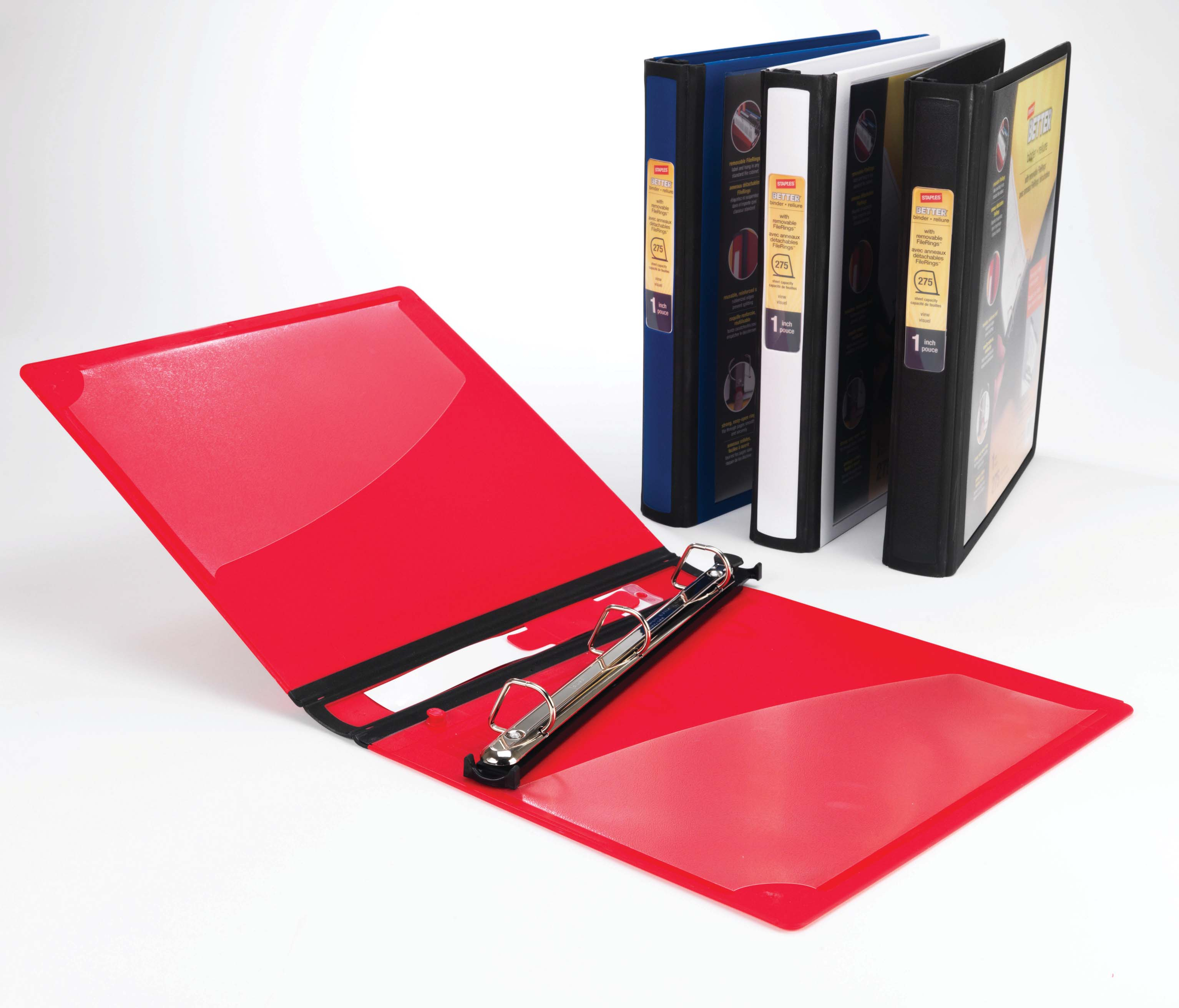 BETTER Binder with Removable FileRings