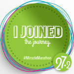 I Joined the Journey #MiracleMarathon